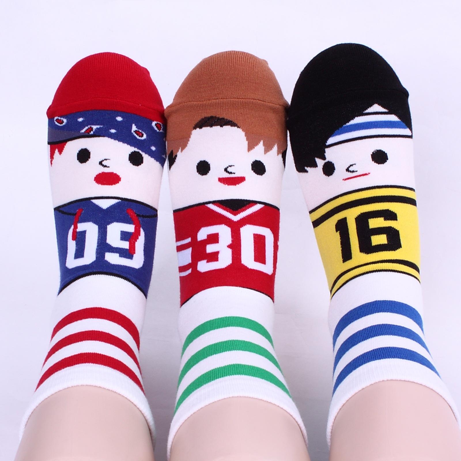 Qoo102015 新製品 韓国産 靴下 おまけ[5+1 / 10+2 / 20+4 ] intype 最安価 2014新商品多量入荷可愛いキャラクター靴下 韓国製のハイクォリティ  SOCKS