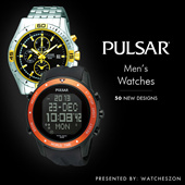 [Best Price Guarantee] Pulsar Mens Watches Promotions [WatchesZon]