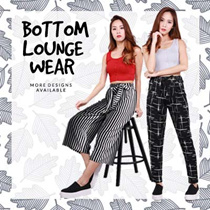 ★★[22-07-16 NEW UPDATE] BOTTOM LOUNGE WEAR COLLECTION ★★ Buy3Free NORMALMAIL/Pants/Culottes/Lounge wear/Everyday wear/Ladies Bottom/Jogger pants/Shorts/Casual Wear/High Quality/SG Seller