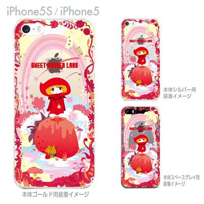 【iPhone5S】【iPhone5】【TORRY DESIGN】【Clear Arts】【iPhone5ケース】【カバー】【スマホケース】【クリアケース】【SWEET WONDER LAND】 27-ip5s-tr0026の画像