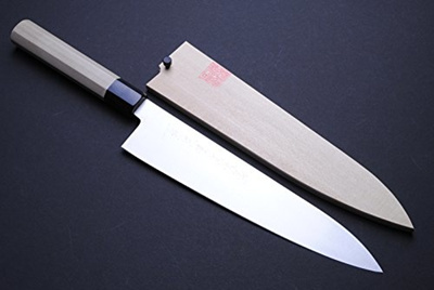 qoo10 yoshihiro molybdenum steel wa gyuto chef knife kitchen dining. Black Bedroom Furniture Sets. Home Design Ideas