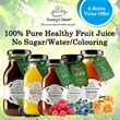 [6 BOTTLES OFFER!!] FREE Shipping + 50% OFF! Grannys Secret 100% Pure Healthy Fruit Juice 200ml Each