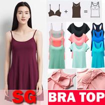 [Free Shipping]Premium Bra Top/Padded Camisole / Tank Top / T-Shirt Bra /Tank Top bra/Yoga Top
