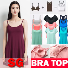 [Free Shipping]Premium Bra Top/Padded Camisole / Tank Top / T-Shirt Bra /Tank Top bra/Yoga Top