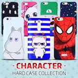 Character Hard Case Collection★Moomin/SuperMario/Cat/Stitch★iphone6 ケース 手帳型 ビックヒット★アンドロイド、アイフォンケース特集実用的で可愛いケースがいっぱい★ iPhone5s 6 Plus iPhone5 Galaxy S3 S4 S5 Galaxy Note4 2 3 Note Edge