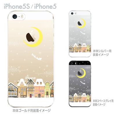 【iPhone5S】【iPhone5】【Clear Arts】【iPhone5sケース】【iPhone5ケース】【クリア カバー】【スマホケース】【クリアケース】【ハードケース】【着せ替え】【イラスト】【クリアーアーツ】【サンタクロース】 09-ip5s-th0003の画像