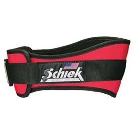 Schiek(シーク) リフティングベルト 4004 L レッド 【ウエイトトレーニング小物】の画像