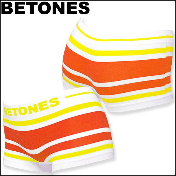Qoo10BETONES ビトーンズ ボクサーパンツ AKER-Yellow/Orange/フリーサイズ:レディース:イエロー×オレンジ アンダーウェア パンツ インナー 下着 女性用 ホワイトデー クリスマス 誕生日 贈り物 プレ