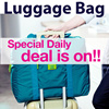 [Special Deal]★Foldable Luggage Bag Pouch★ CNY / New Year/waterproof Travel Pouch Luggage/Sorting clothes pouch/Travel Trip Cosmetic Case Toiletry Makeup Bag Organizer Pouch Hanging Portable Scale