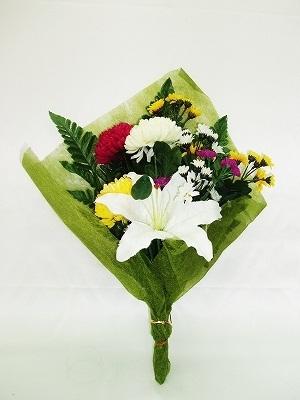 ●代引き不可送料無料造花 WP-303 仏壇向け 仏花束93516の画像