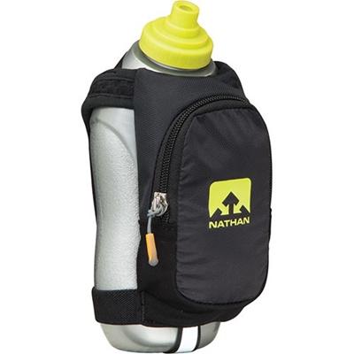 ネイサン(NATHAN) Speed Draw Plus B61551000 BK/S.SPRING 535ml 【ランニング マラソン ナイトラン 水分補給ボトル ケース】の画像