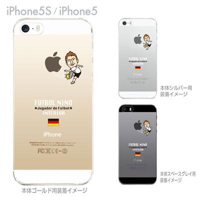 【ドイツ】【FUTBOL NINO】【iPhone5S】【iPhone5】【サッカー】【iPhone5ケース】【カバー】【スマホケース】【クリアケース】 10-ip5s-fca-gm04の画像