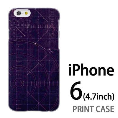 iPhone6 (4.7インチ) 用『No5 ターゲット』特殊印刷ケース【 iphone6 iphone アイフォン アイフォン6 au docomo softbank Apple ケース プリント カバー スマホケース スマホカバー 】の画像