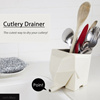 [Fast Local Delivery!] ★Cutlery Drainer★Kitchen Utensil Cutlery Drainer Elephant Kitchen Bathroom Dish Holder Rack / Organizer Dryer Tray Storage/ spoon fork knife pencil pen