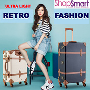 Japan Latest Trend**Fashion Retro Luggage**|Ultra Light PP Material|Handmade Casual Unique Suit Case