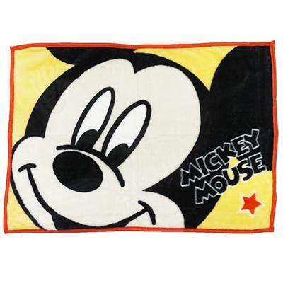 ミッキーマウスひざ掛けマイヤーブランケットアップディズニー丸眞70×100cmウォーマー雑貨キャラクターグッズ通販シネマコレクション■