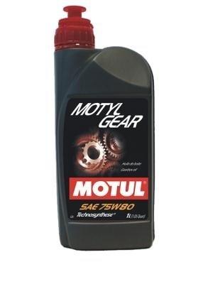 【クリックで詳細表示】MOTUL(モチュール)MOTYL GEAR(モーチルギア) 75W80 化学合成ギアオイル[正規品] 1L 13201211