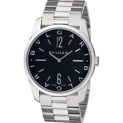 【クリックで詳細表示】【レビューを書いて送料無料】【代引決済は通常送料】BVLGARI 【ブルガリ】ブルガリ ソロテンポ ST42BSS 腕時計【Luxury Brand Selection】【smtb-m】【YDKG-m】9%OFF ユニセックス腕時計 ブルガリ