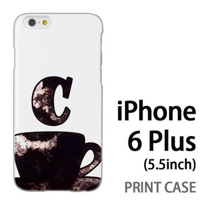 iPhone6 Plus (5.5インチ) 用『No1 C コーヒーカップ』特殊印刷ケース【 iphone6 plus iphone アイフォン アイフォン6 プラス au docomo softbank Apple ケース プリント カバー スマホケース スマホカバー 】の画像