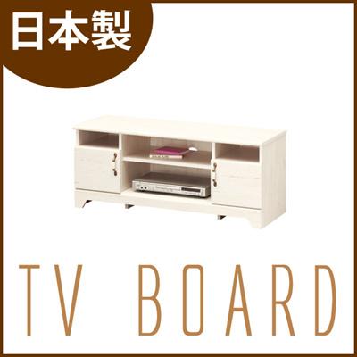 【代引不可】【完成品】【日本製】 VLT-4511D TVボード 収納 テレビ テレビ台 木製 棚 収納家具 ナチュラル 家電 オシャレ カントリー m092330の画像