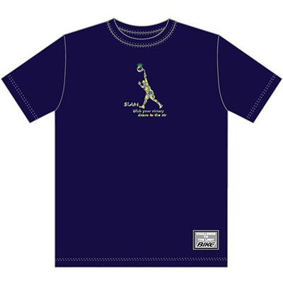 バイク(BIKE)TシャツBK5333ネイビー【バスケットボールトレーニングウェアプラシャツ】