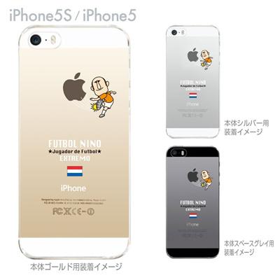 【オランダ】【FUTBOL NINO】【iPhone5S】【iPhone5】【サッカー】【iPhone5ケース】【カバー】【スマホケース】【クリアケース】 10-ip5s-fca-hd03の画像