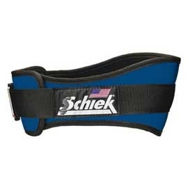 Schiek(シーク) リフティングベルト 4004 L ロイヤルブルー 【ウエイトトレーニング小物】の画像