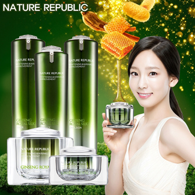 Nước Hoa Hồng Nature Republic Ginseng Royal Silk Toner 3