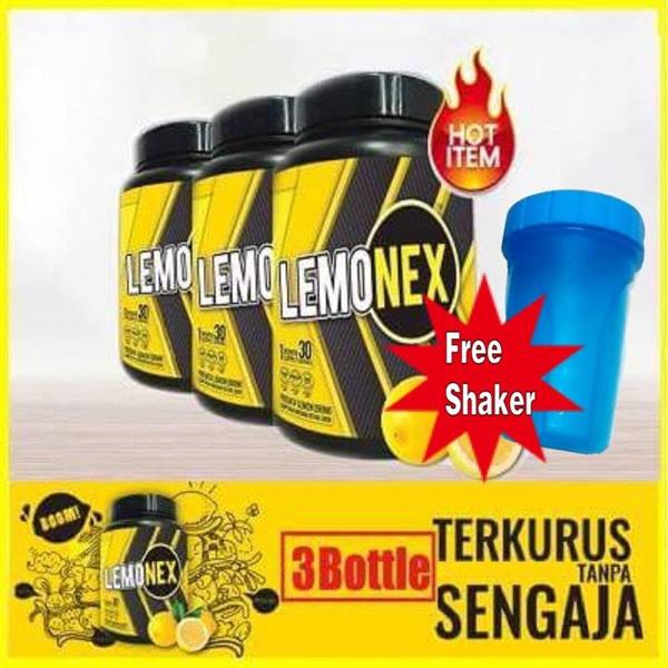 [RM 242 Affter Coupon]3Bottle FREE Shaker Lemonex Premix Lemon Drink Deals for only S$194.88 instead of S$0