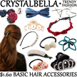 RESTOCK 14TH MAR Korea Hair Accessories ★ Hairband Headband Clip Barrette Pin Tie Claw Crystal Pearl