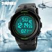 JAM TANGAN PRIA FASHION SKMEI S-Shock Sport Watch Water Resistant 50m - DG1127