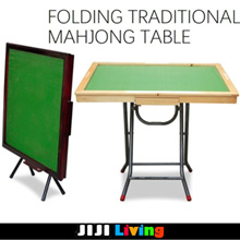 FOLDABLE MAHJONG TABLE * FOLDING TABLE * TRADITIONAL MAHJONG TABLE * LARGE SIZE