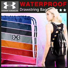 3 FREE SHIPPING Under Armour 12 Color Waterproof Drawstring Bag/Backpack/Sports Bag/Shoe Bag/Shoulder Bag Women Men Sports Hiking A4 Soccer Basketball Bags