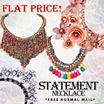 Flat Price! Korean Design Statement Necklaces | Super Sale