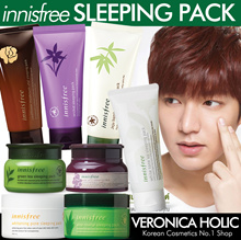 [Innisfree Sleeping Pack Collection] Greentea/Orchid/White Pore/White Tone Up/Aleo