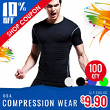 DRI FIT CORE FITTED VEST SHIRT COMPRESSION WEAR TIGHTS COOL MESH / QUICK DRY FOR TRAINING / CYCLING / SPORTS / RUNNING / JOGGING