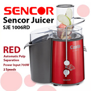 Sencor Juicer  SJE 1006RD... CHEAPEST IN Qoo10!!! Strong/ Powerful Juicer.