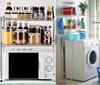 Washing MACHINE RACK Organizer/rack/ two layers rack/furniture/storage box/laundry machine/bathroom rack/