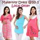 MTN1:New listing 12/04/2015 Nursing Wear/maternity Dress Breastfeeding top/outfit nursing top/maternity wear pajamas Pregnant women pajamas/nightgown/sleepwear