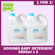 [KODOMO] ★ 1 FOR 1★ Baby Laundry Detergent 3000ml★ SPECIALLY FOR WASHING BABYWEAR AND DIAPERS