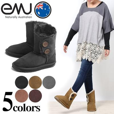 エミュー オーストラリア バレリー ロー EMU AUSTRALIA W10541 ムートンブーツ レディース(女性用)の画像