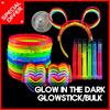 GLOW GOODS / glow twist bracelet band / glow stick / glow heart glasses / mirror balls / glow stick