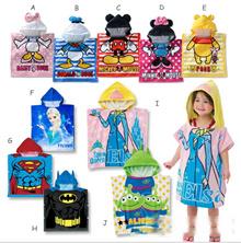 Children Bathrobes Cute Animals Cartoons Bathrobes / Baby Towels / Shower Christmas Gift