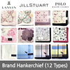 Colorful Handkerchief/ Jill Stuart/Lanvin/Polo/Made in Japan/ flower printed/fashionable