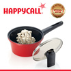 Happycall Alumite Ceramic Die-Cast Saucepan with Cover Red 18cm 1.8L