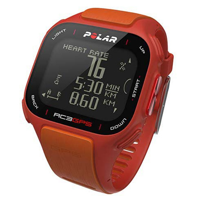 ◆即納◆ポラール(Polar) RC3 GPS (心拍センサーなし) レッド/オレンジ 90047381 【ランニングウォッチ 腕時計 GPS 国内正規品】の画像