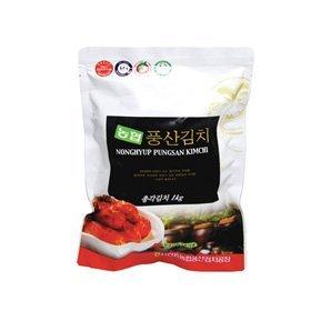 【韓国食品・韓国キムチ】■韓国本場の農協チョンガキムチ1kg■の画像