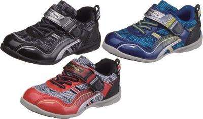 (A倉庫)アサヒ健康くん P017K AKK P017K KENKO-KUN 子供の足の為の、高機能シューズ 男の子 キッズ スニーカー 子供靴の画像