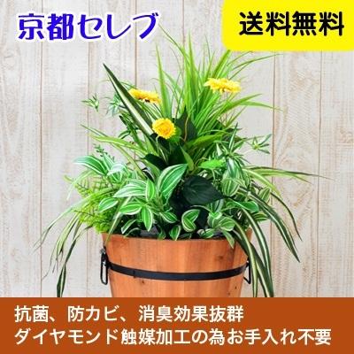 ●代引き不可送料無料人工観葉植物 造花  触媒加工品 オフィスグリーン(オフィスや店舗の装飾に)99999の画像
