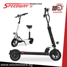 ★Official Korea Minimotors.sg★100% Authentic★SPEEDWAY 4 ELECTRIC E-SCOOTER FOLDABLE